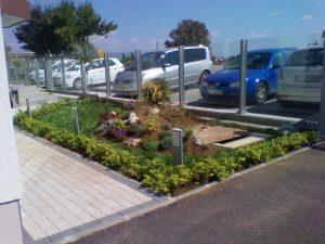 Озеленяване пред офис сграда Sun Systems [13]