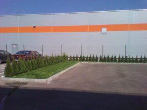 Озеленяване пред офис сграда Sun Systems [15]