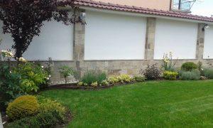 Озеленяване на двор, с. Доброславци [3]