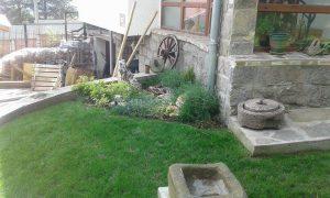 Озеленяване на двор, кв. Драгалевци [3]