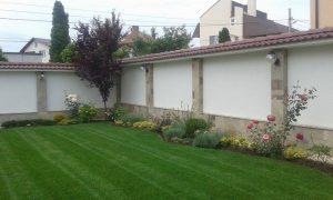 Озеленяване на двор, с. Доброславци [7]