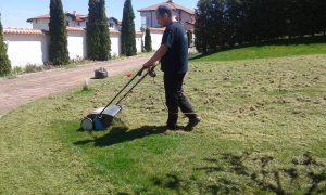 Поддържане и озеленяване на двор Горна Баня [18]