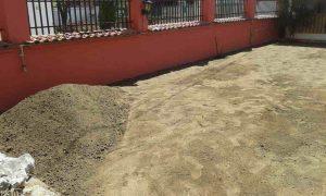 Озеленяване на двор, кв. Модерно предградие [7]