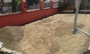 Озеленяване на двор, кв. Модерно предградие [8]