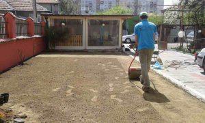 Озеленяване на двор, кв. Модерно предградие [17]