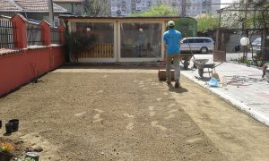 Озеленяване на двор, кв. Модерно предградие [18]