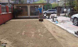 Озеленяване на двор, кв. Модерно предградие [19]
