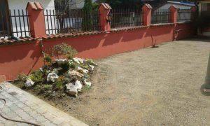 Озеленяване на двор, кв. Модерно предградие [20]