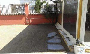 Озеленяване на двор, кв. Модерно предградие [21]