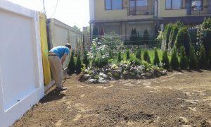 Озеленяване на двор, кв. Кръстова вада [1]