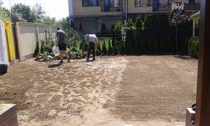 Озеленяване на двор, кв. Кръстова вада [4]