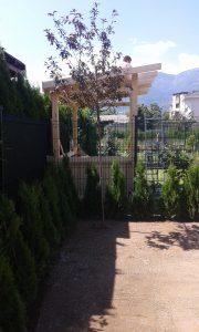Озеленяване на двор, кв. Кръстова вада [29]