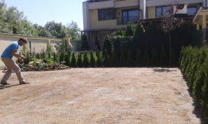 Озеленяване на двор, кв. Кръстова вада [13]