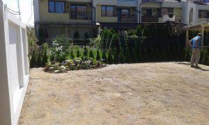 Озеленяване на двор, кв. Кръстова вада [17]