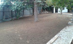 Озеленяване на двор, кв. Драгалевци [12]