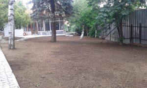 Озеленяване на двор, кв. Драгалевци [15]