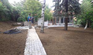 Озеленяване на двор, кв. Драгалевци [16]