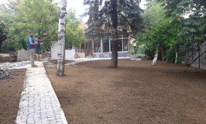 Озеленяване на двор, кв. Драгалевци [17]