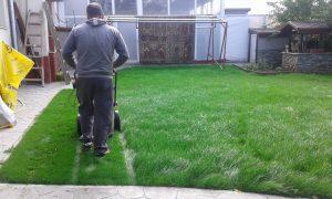 Озеленяване на двор, кв. Левски [5]