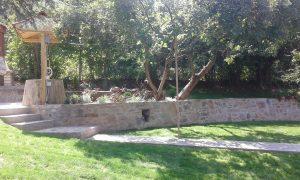 Озеленяване на двор, кв. Драгалевци [27]