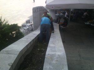 Полагане на чим пред заведение, НДК [9]