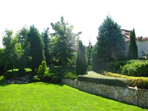 Поддържане и озеленяване на двор Горна Баня [12]