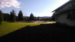 Поддържане и озеленяване на двор Горна Баня [4]