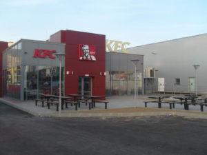Озеленяване заведение KFC Люлин [43]