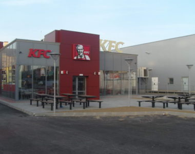 Озеленяване заведение KFC Люлин [10]