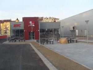 Озеленяване заведение KFC Люлин [39]