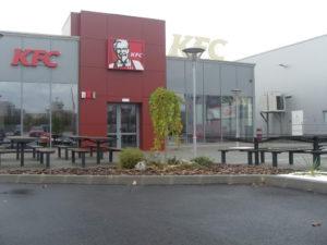 Озеленяване заведение KFC Люлин [7]