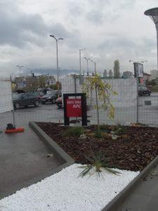 Озеленяване заведение KFC Люлин [6]