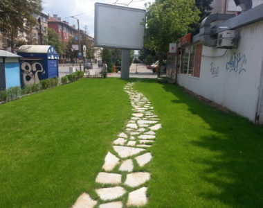 """Озеленяване и поливна система на УМБАЛ """"Александровска"""" [6]"""