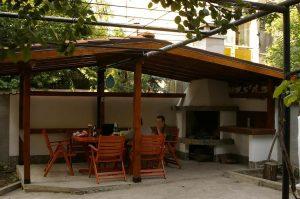 удобни и комфортни архитектури за градината